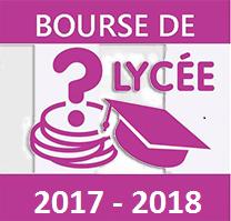 Bourse de lycée 2017 2018